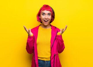 Nietypowe kolory włosów dla osób kreatywnych